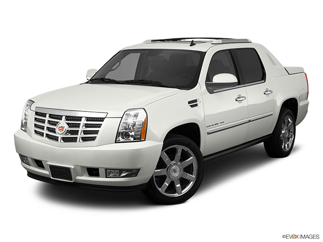 2011 Cadillac Escalade EXT Front angle view