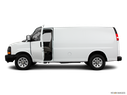 2011 Chevrolet Express Cargo Driver's side profile with drivers side door open