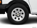 2011 Chevrolet Express Cargo Front Drivers side wheel at profile