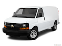 2011 Chevrolet Express Cargo Front angle view