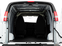 2011 Chevrolet Express Cargo Trunk open