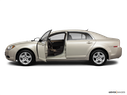 2011 Chevrolet Malibu Driver's side profile with drivers side door open