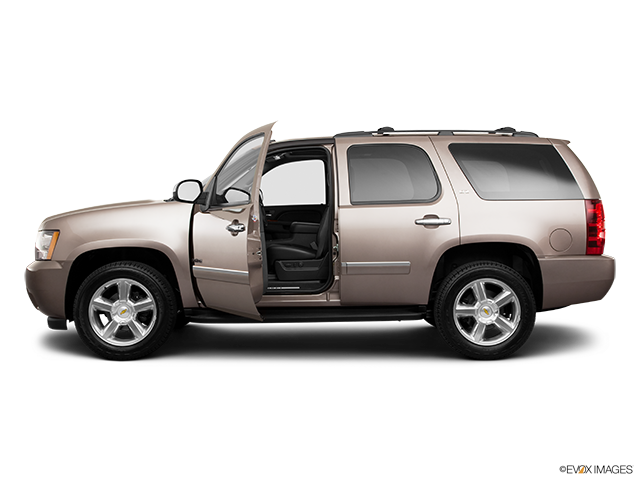 2011 Chevrolet Tahoe Driver's side profile with drivers side door open