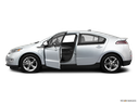 2011 Chevrolet Volt Driver's side profile with drivers side door open