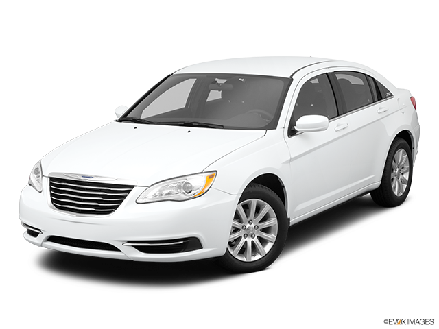 2011 Chrysler 200 Front angle view