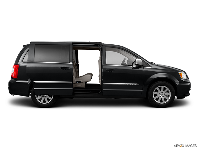 2011 Chrysler Town and Country Passenger's side view, sliding door open (vans only)