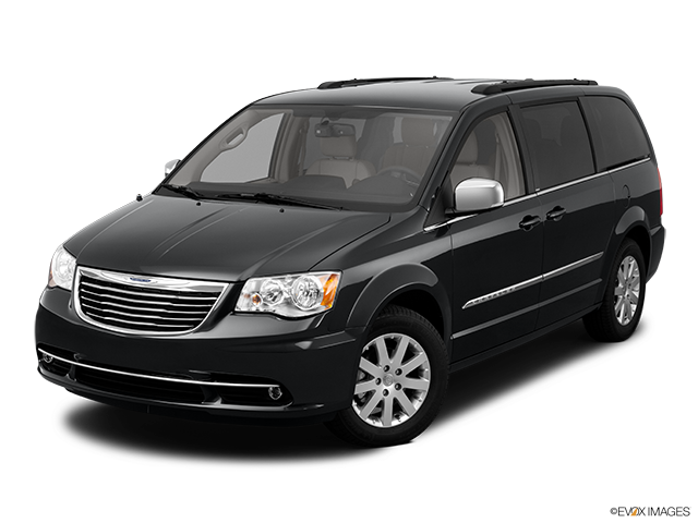 2011 Chrysler Town and Country Front angle view