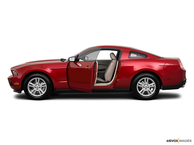 2011 Ford Mustang Driver's side profile with drivers side door open