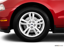2011 Ford Mustang Front Drivers side wheel at profile