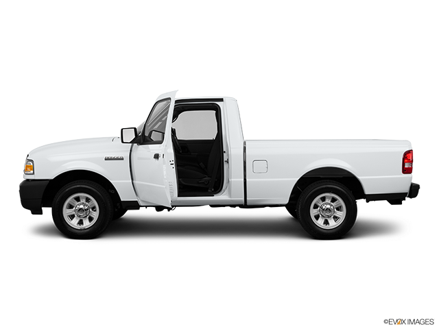 2011 Ford Ranger Driver's side profile with drivers side door open