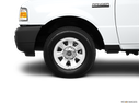 2011 Ford Ranger Front Drivers side wheel at profile
