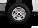 2011 GMC Sierra 2500HD Front Drivers side wheel at profile