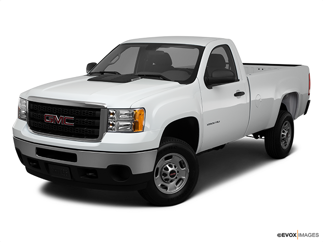 2011 GMC Sierra 2500HD Front angle view