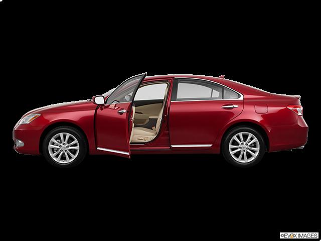 2011 Lexus ES 350 Driver's side profile with drivers side door open