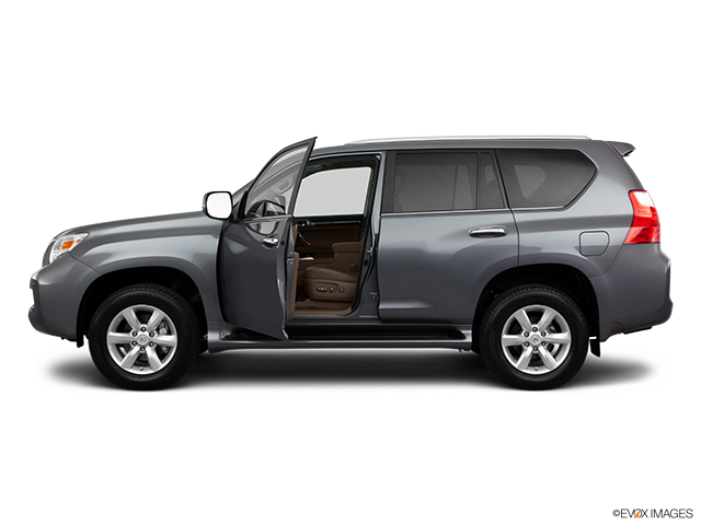 2011 Lexus GX 460 Driver's side profile with drivers side door open