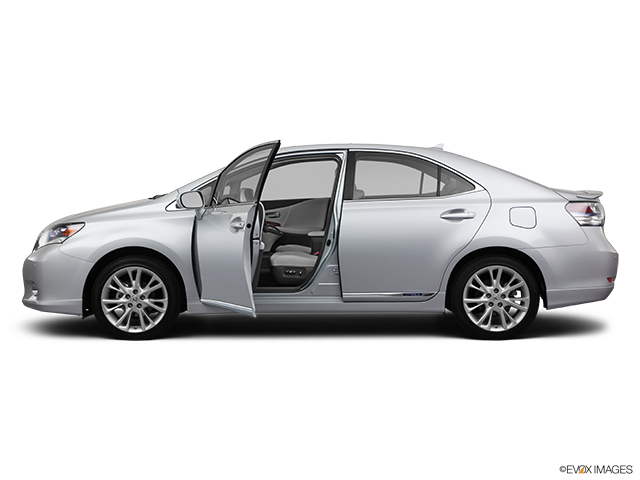 2011 Lexus HS 250h Driver's side profile with drivers side door open