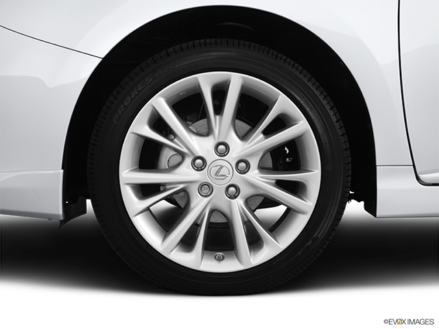 2011 Lexus HS 250h Front Drivers side wheel at profile