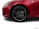 2011 Lexus IS 250 Front Drivers side wheel at profile