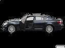 2011 Lexus LS 460 Driver's side profile with drivers side door open