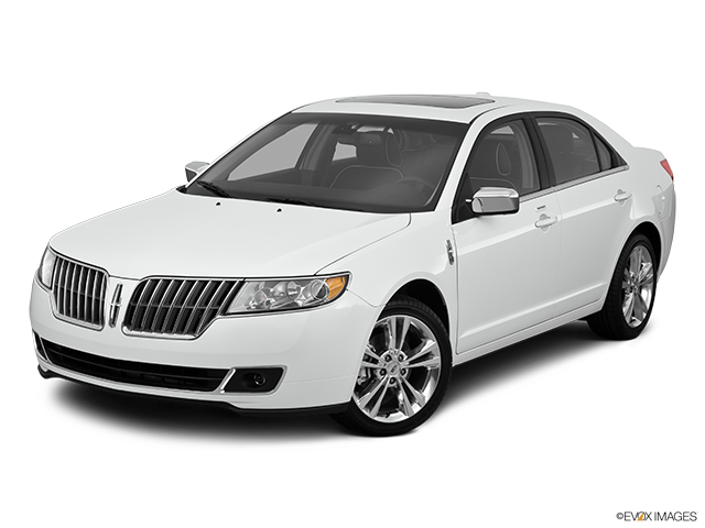 2011 Lincoln MKZ Front angle view