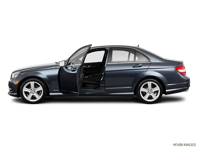2011 Mercedes-Benz C-Class Driver's side profile with drivers side door open