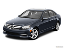 2011 Mercedes-Benz C-Class Front angle view