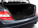 2011 Mercedes-Benz C-Class Trunk open