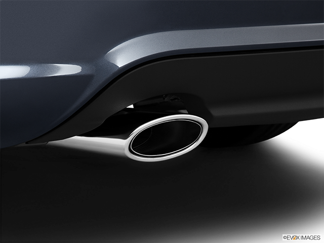 2011 Mercedes-Benz C-Class Chrome tip exhaust pipe