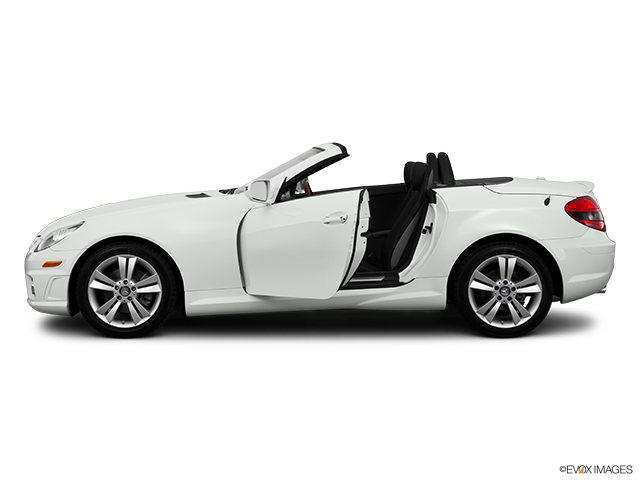 2011 Mercedes-Benz SLK Driver's side profile with drivers side door open