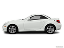 2011 Mercedes-Benz SLK Drivers side profile, convertible top up (convertibles only)
