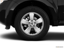 2011 Mercury Mariner Front Drivers side wheel at profile