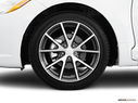 2011 Mitsubishi Eclipse Front Drivers side wheel at profile