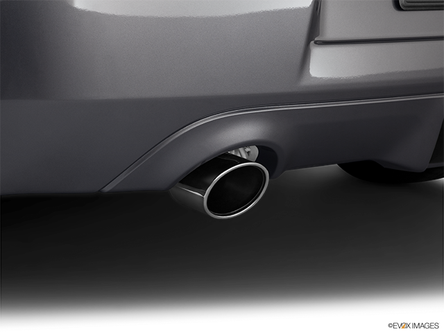 2011 Nissan 370Z Chrome tip exhaust pipe