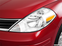 2011 Nissan Versa Drivers Side Headlight