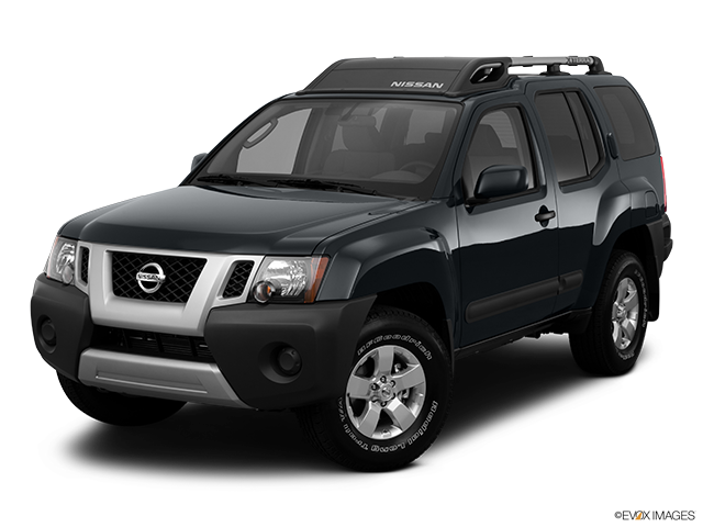 2011 Nissan Xterra Front angle view