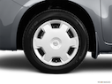 2011 Nissan cube Front Drivers side wheel at profile