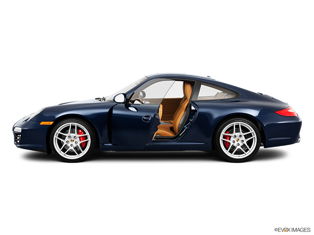 2011 Porsche 911 Driver's side profile with drivers side door open