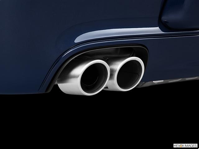 2011 Porsche 911 Chrome tip exhaust pipe