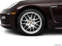 2011 Porsche Panamera Front Drivers side wheel at profile