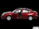 2011 Subaru Impreza Driver's side profile with drivers side door open
