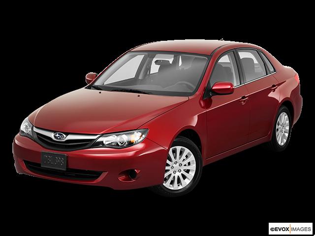 2011 Subaru Impreza Front angle view