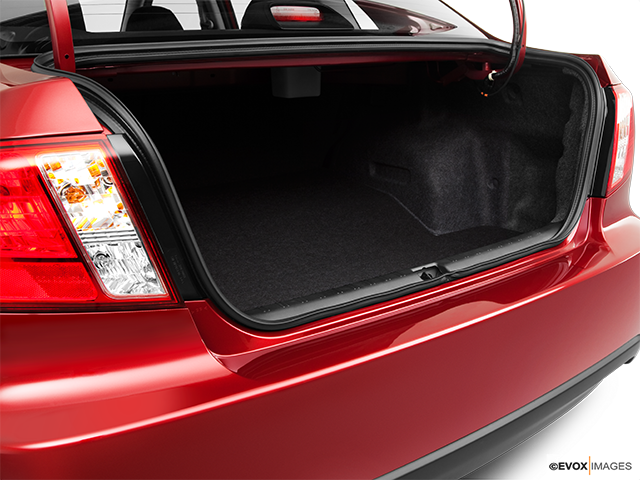 2011 Subaru Impreza Trunk open