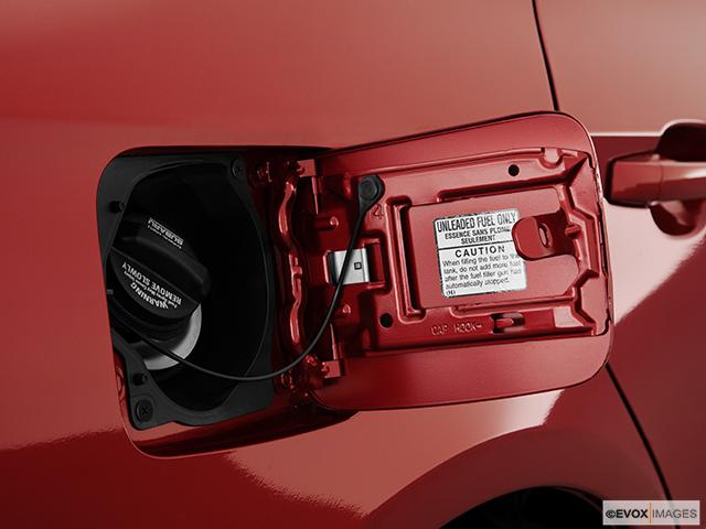 2011 Subaru Impreza Gas cap open