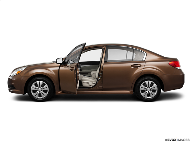 2011 Subaru Legacy Driver's side profile with drivers side door open