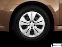 2011 Subaru Legacy Front Drivers side wheel at profile