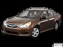 2011 Subaru Legacy Front angle view