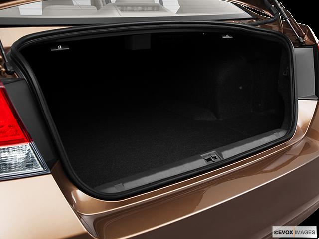 2011 Subaru Legacy Trunk open