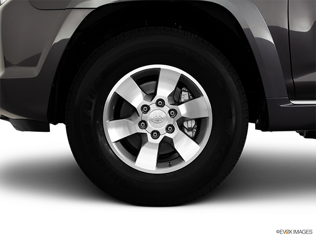 2011 Toyota 4Runner Front Drivers side wheel at profile