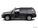 2011 Toyota Highlander Driver's side profile with drivers side door open