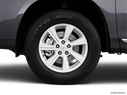 2011 Toyota Highlander Front Drivers side wheel at profile